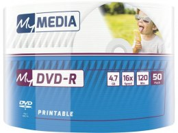 DVD-R My Media 4.7GB x16 Wrap Printable (50 spindle)