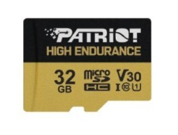 Patriot Karta microSDHC 32GB V30 High Endurance